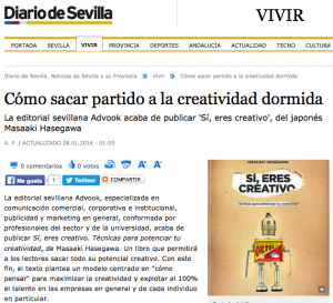 creativo en el diario de sevilla
