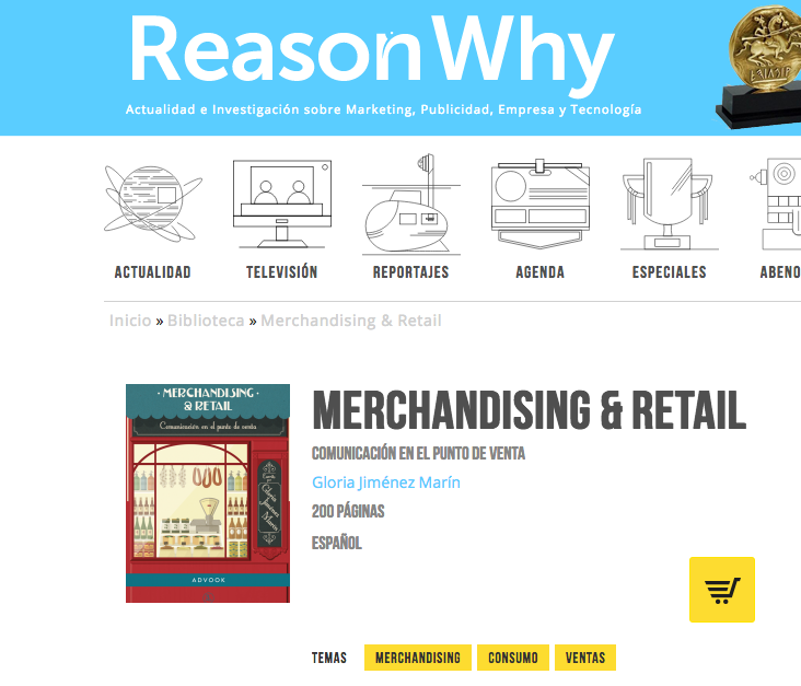 Reseña del libro Merchandising & Retail en Reason Why