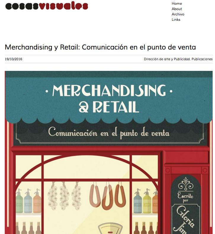 Reseña del libro Merchandising & Retail en Cosas Visuales