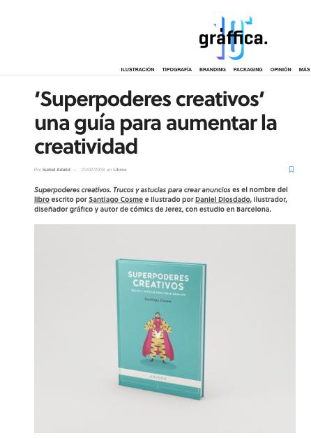 Reseña Superpoderes creativos en Graffica